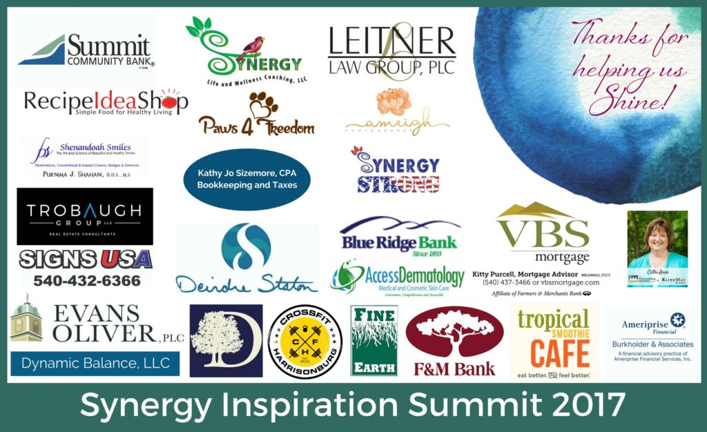 Thanks for helping us ShineSynergy Inspiration Summitt 2018 (3)